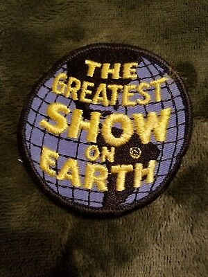 """Vintage Ringling Bros Barnum & Baileys Greatest Show on Earth Patch 3""""  Un-Sewn"""