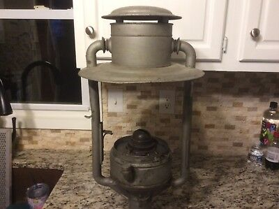 Antique DIETZ Tubular #3 Street Light / Lantern - Pioneer - City
