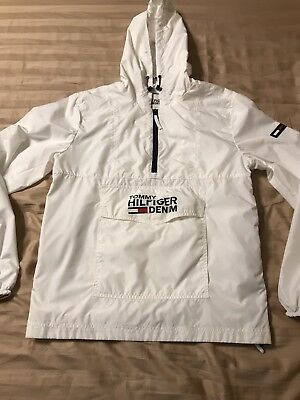 2677845d Tommy Hilfiger Jeans Windbreaker Jacket Sold By Urban Outfitters White  Men's M