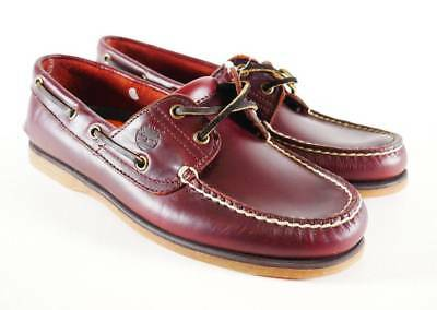 TIMBERLAND MEN'S CLASSIC 2 Eye Boat Shoes AUTHENTIC Root
