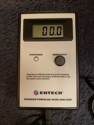 Monster Entech Wide Band Power Line Noise Analyzer Nh-161