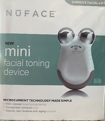 White NuFACE Mini Facial Toning Kit (excellent Condition)