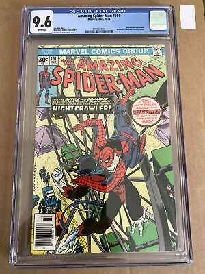 The Amazing Spider-Man 161 CGC 9.6 NM+ White Pages  Punisher Cameo