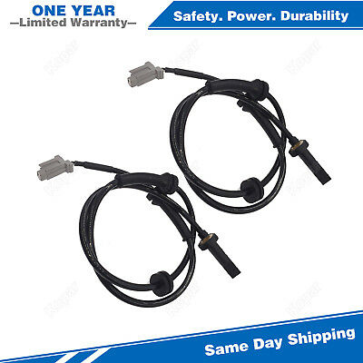 2PCS Front ABS Wheel Speed Sensor 695872 For 2008-2012 Nissan X-Trail Rogue 2.5L