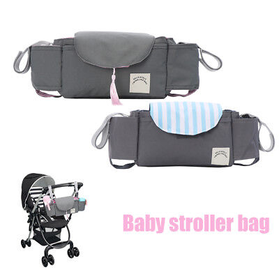 Universal Baby Trolley Storage Bags Stroller Cups Carriage Pram Buggy Organizer