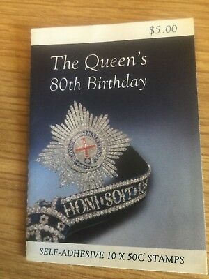 2006 The Queen's 80th Birthday -  Stamp Booklet SB199 Queen Elizabeth II