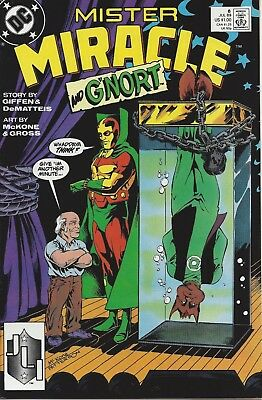 Mister Miracle #6. Jul 1989. DC. VF+.