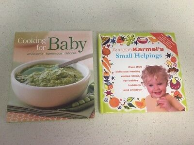 Baby/ Toddler Cook Books