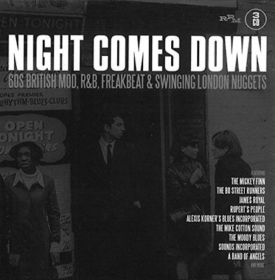 Night Comes Down 60 British M - Night Comes Down 60 British M [CD]