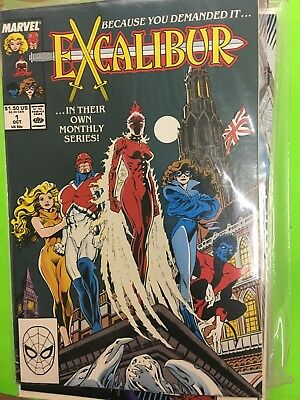 Excalibur # 1 Nm or better Marvel 1st Solo Series (1988)