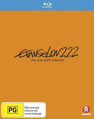 Evangelion 2.22 You Can Not Advance Blu-ray BRAND NEW SEALED Region B FREE POST