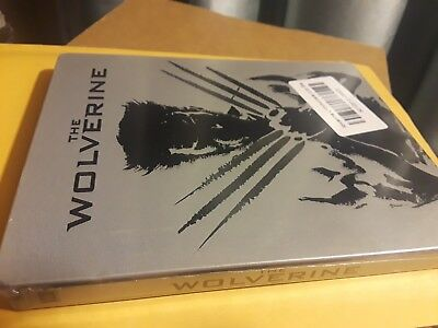 Dent *** The Wolverine - 3D / 2D Blu-Ray Limited Edition Steelbook - NEW