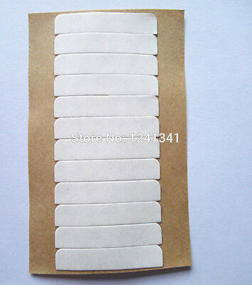 Double-sided lace front support wig tape strips white * UK SELLER *
