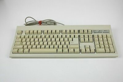 Honeywell Spacemate Vintage PS2 Keyboard Rubber Dome Retro Computer