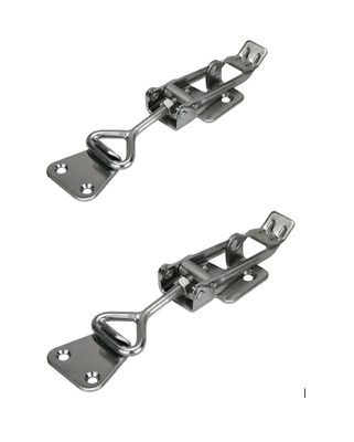 2 x Large HD Stainless Steel Cabinet Fastener, Trailer Ute Latch, Tool Box Catch