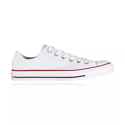 Converse Chuck Taylor All Star Low Casual Shoes - Womens Mens Unisex - Optic Whi