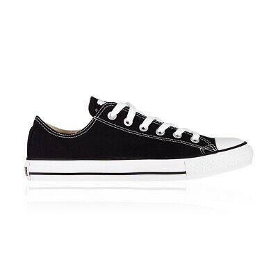 Converse Chuck Taylor All Star Low Casual Shoes - Mens Womens Unisex - Black
