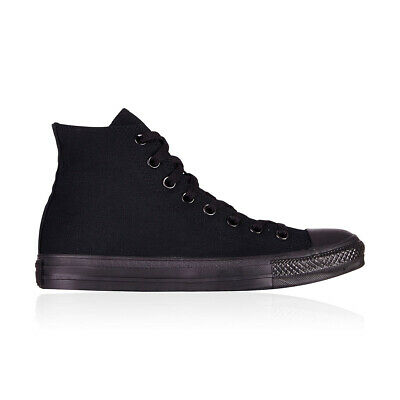 Converse Chuck Taylor All Star Hi Casual Shoes - Mens Womens Unisex - Black Mono