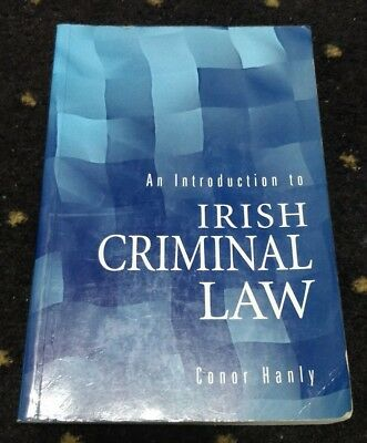 An Introduction to Irish Criminal Law by Hanly, Conor Paperback Book The Cheap