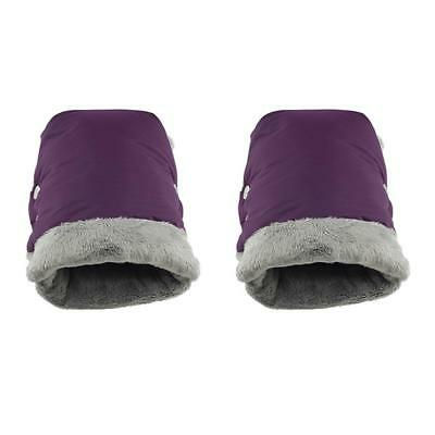 1 Pair Soft Baby Stroller Gloves Winter Warm Waterproof For Mother And Baby