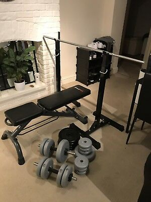 Body Max - Weight Bench, Weights & Squat Rack