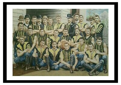 RICHMOND FC ART. Limited edition Giclee print (A2). The 1889 Tigers.