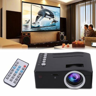 UC18 HD 1080P TFT LCD Projector Multimedia Home Theater Cinema 1920 x 1080