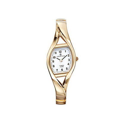 8fc22e7c400 MICHEL HERBELIN PARIS Baccara Date Women s Watch Gold Tone White ...