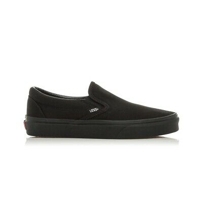 Vans Classic Slip On Casual Shoes Mens Womens Unisex - Black/Black