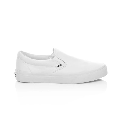 Vans Classic Slip On Casual Shoes - Mens Womens Unisex - True White
