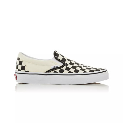 Vans Classic Slip On Casual Shoes - Mens Womens Unisex - Black/White Checkerboar