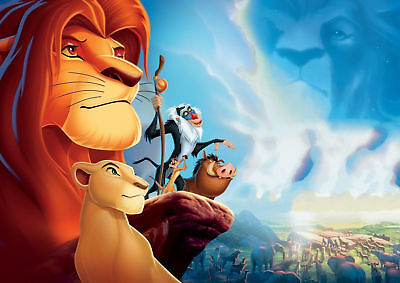 The Lion King Art Silk Poster 8x12 24x36 24x43