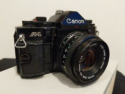 Canon A-1 - Working Vintage Camera