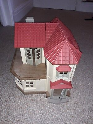 Sylvanian Families Beechwood Willow Hall Cottage Calico Critters House Only