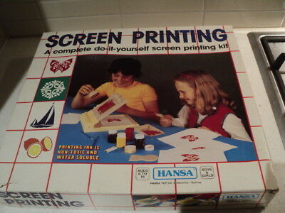 Hansa Screen printing kit 1971