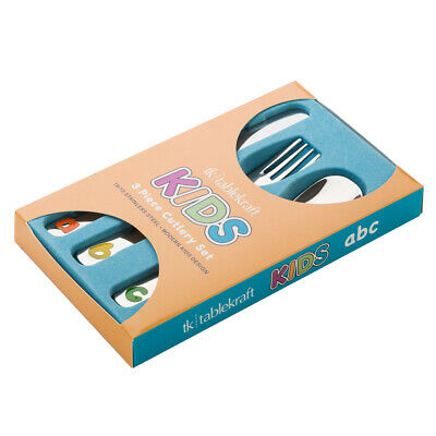 NEW Tablekraft Kids' ABC Cutlery Set