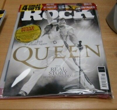 Classic Rock magazine #255 2018 Queen + AC/DC Book + 14-Track CD + Giant Poster