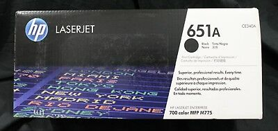 New Genuine HP CE340A Black Toner Cartridge