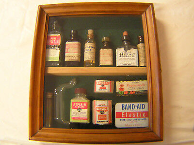 Vintage medical collectables and Cabinet