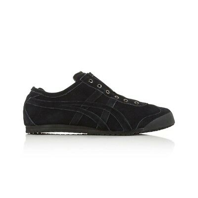 Onitsuka Tiger Mexico 66 Slip On Casual Shoes - Men's Women's Unisex - Black/Bla