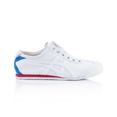 buy popular 380b8 aaa57 ONITSUKA TIGER MEXICO 66 Slip On Casual Shoes - Men's Women's Unisex -  White/Whi