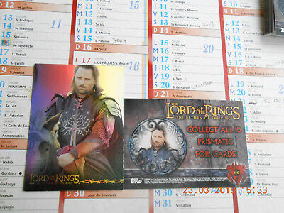 Trading Carte The Lord Of The Rings{The Return Of The King} Topps
