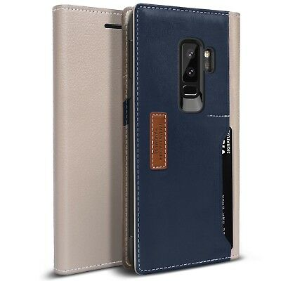 Galaxy S9 Plus Case, OBLIQ [K3 Wallet], Flip Cover with Card & ID Pockets Wallet