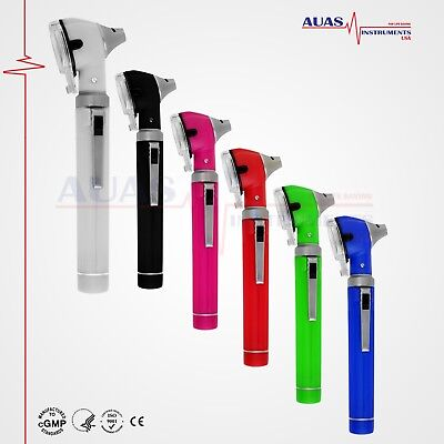 OTOSCOPE MINI FIBER OPTIC POCKET,MEDICAL,DIAGNOSTIC,OTOLOGIST, ENT, CE Certified