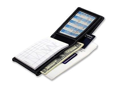 Waiter Wallet Jr. Deluxe Server Organizer Book + Order Pad Premium Stitched