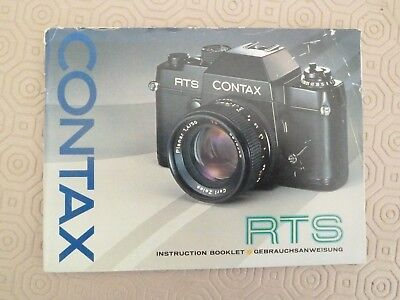 Contax  Rts  Instruction  Book