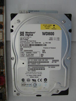 Western Digital 80-GB HDD + Windows-7-Home-Premium ( 32 / 64 bit ) COA + PATA