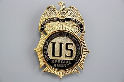 US Police Badge Special Agent Uniform NYPD