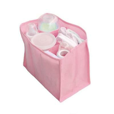 Portable Baby Diaper Nappy Changing Organizer Insert Outdoor Storage Bag