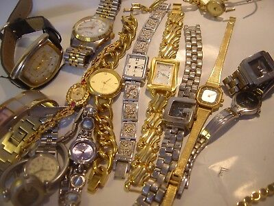 Massive Job Lot-Watches-Spares Or Repairs !!vintage-Used Cond